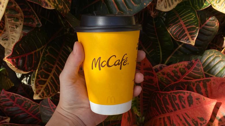 Pumpkin Spice latte from McDonald's