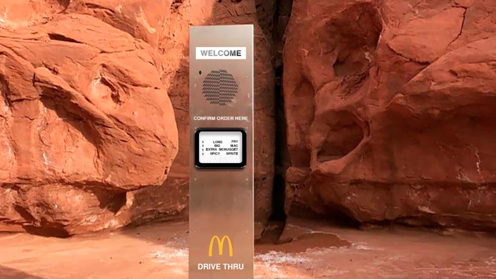 McDonalds monolith