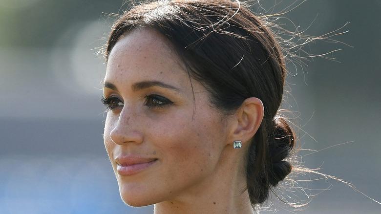 Meghan Markle attending royal engagement