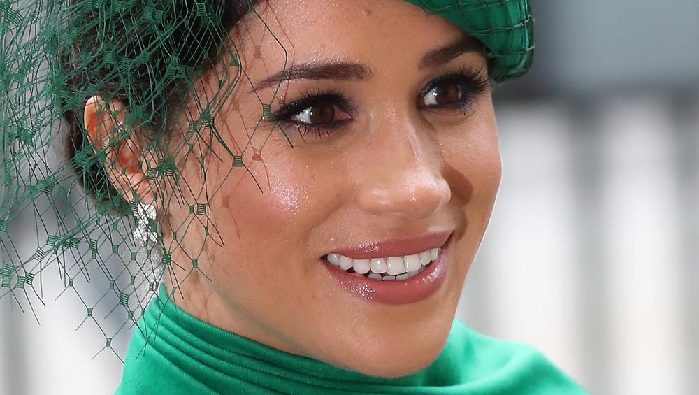 Meghan Markle, close-up