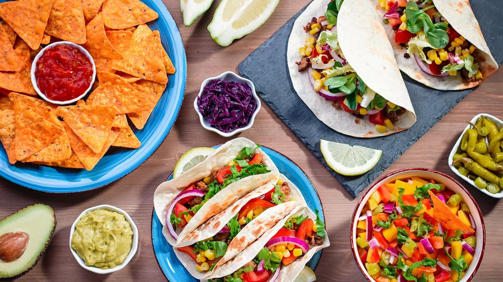 taco dinner table