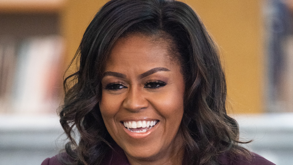 Michelle Obama at an event