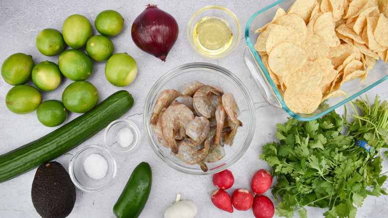 ingredients for aguachile