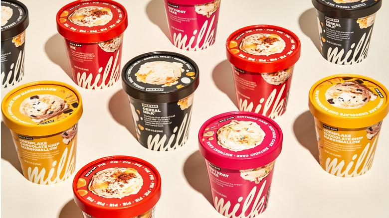 Milk Bar ice cream pints
