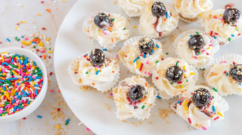 Mini Ice cream cupcakes