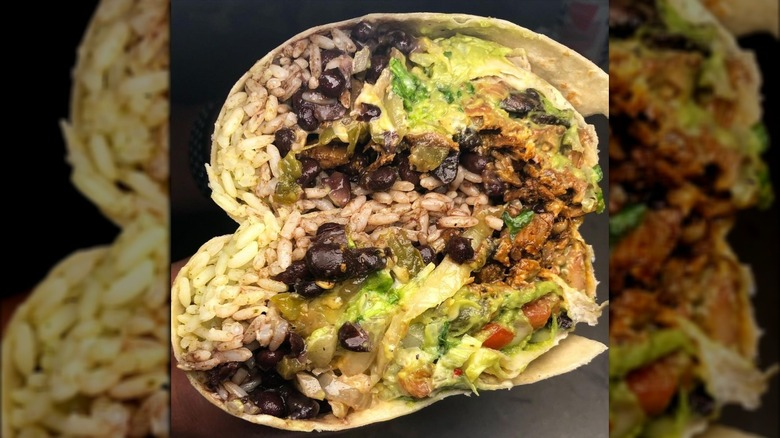 Homewrecker burrito from Moe's Southwest Grill