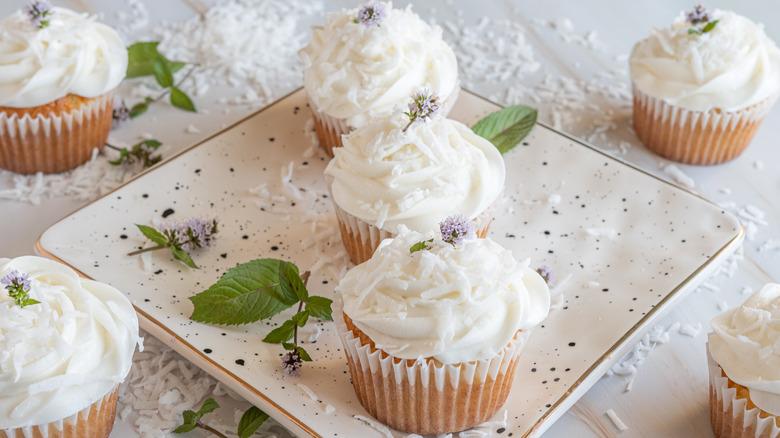 moist coconut cupcakes