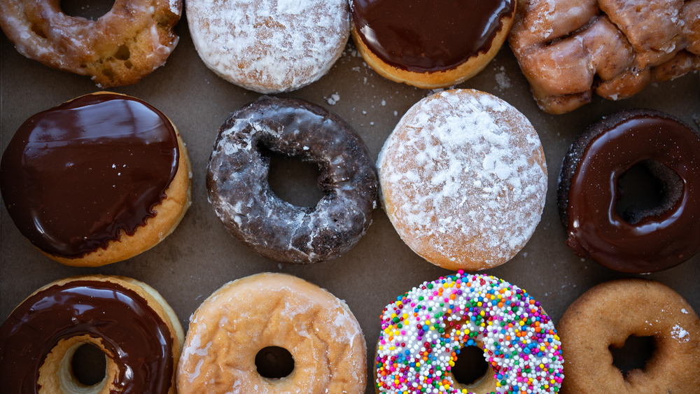 Assortment of donuts