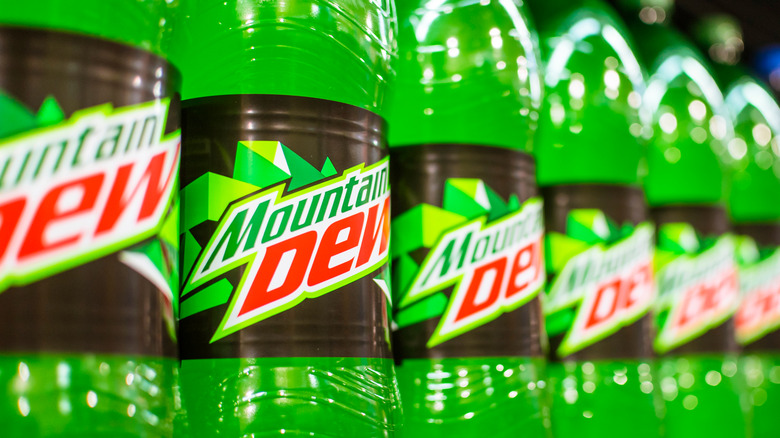 MTN Dew in a line