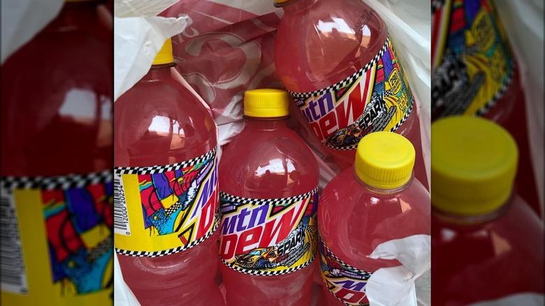 Mountain Dew Spark bottles