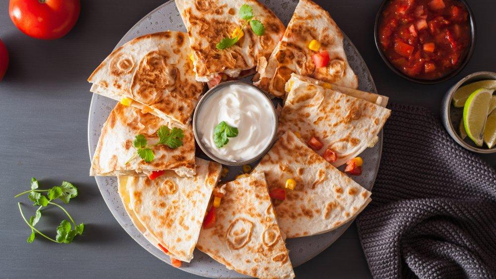 A generic image of quesadilla