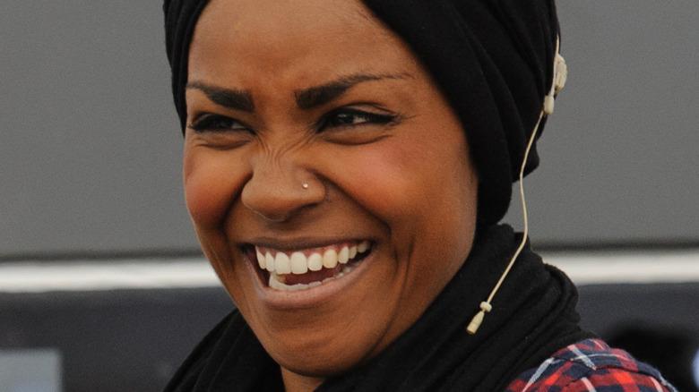 Close up of Nadiya Hussain