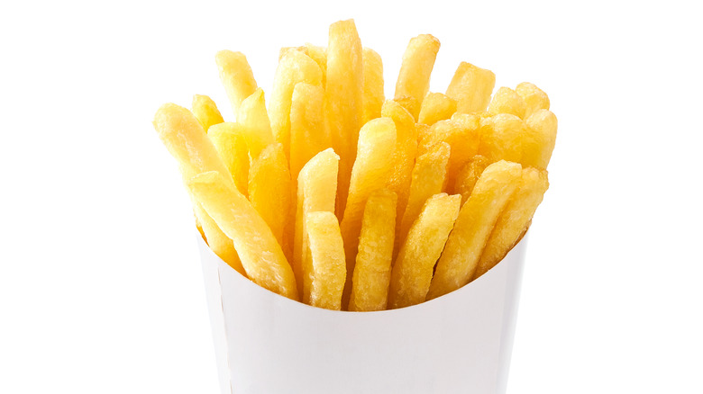 A generic image of French fries