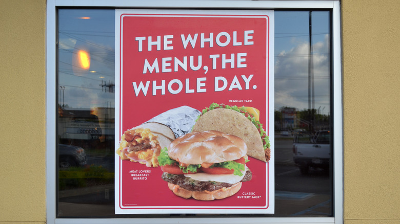 Jack in the Box food ad