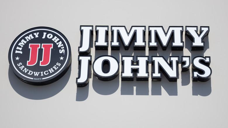 Jimmy John's storefront sign