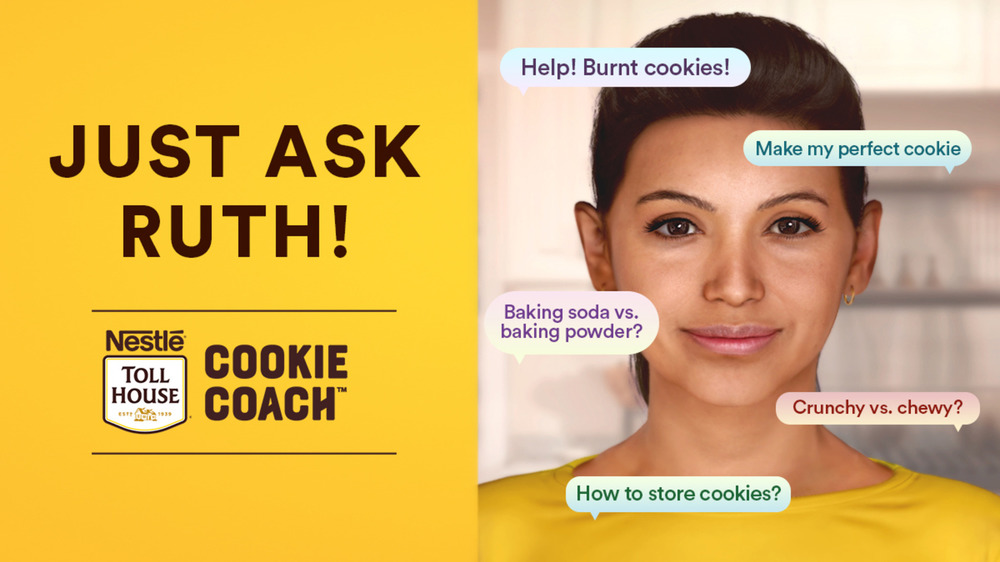 Nestle Toll House AI digiital cookie expert Ruth
