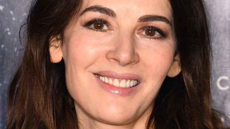 Nigella Lawson smiling