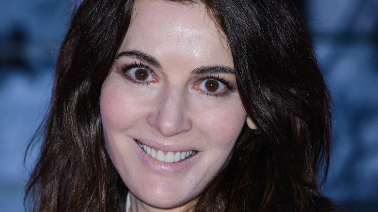 Close up Nigella Lawson