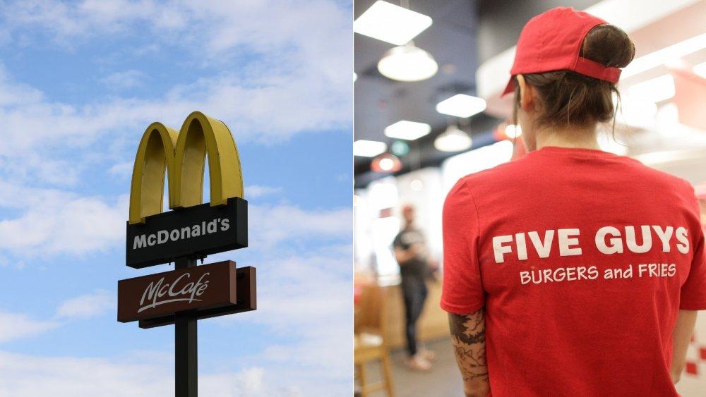 McDonalds vs Five Guys