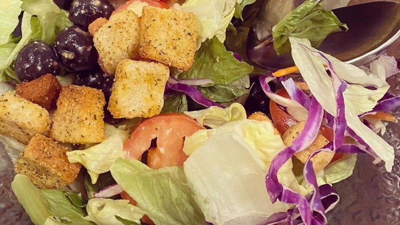 Salad from Olive Garden