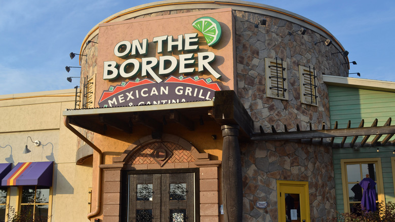 On the Border Mexican restaurant exterior