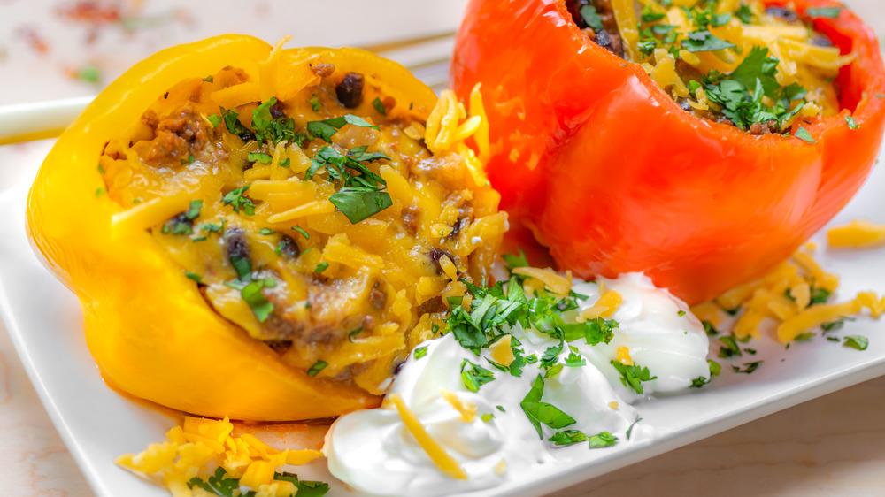 one-pot stuffed bell peppers recipe