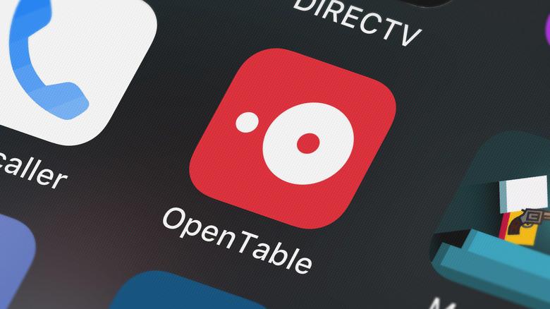 OpenTable app icon