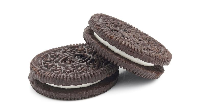 Two Oreo cookies