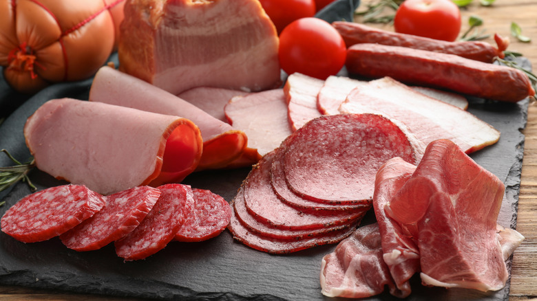 deli meat selection