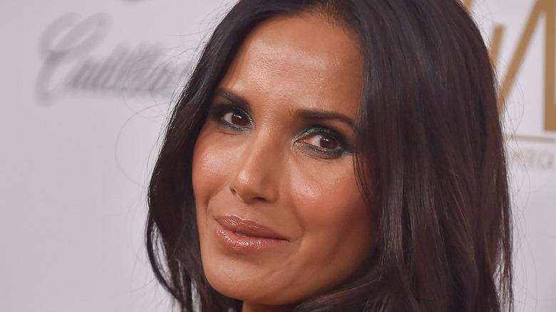 Padma Lakshmi sideways glance