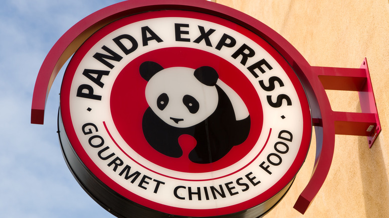 Panda Express signage