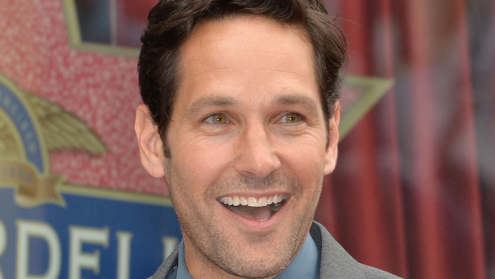 Paul Rudd excited smile