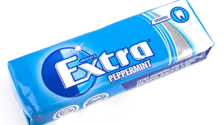 A packet of Extra Gum
