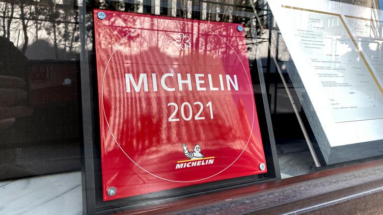 Michelin 2021 sign