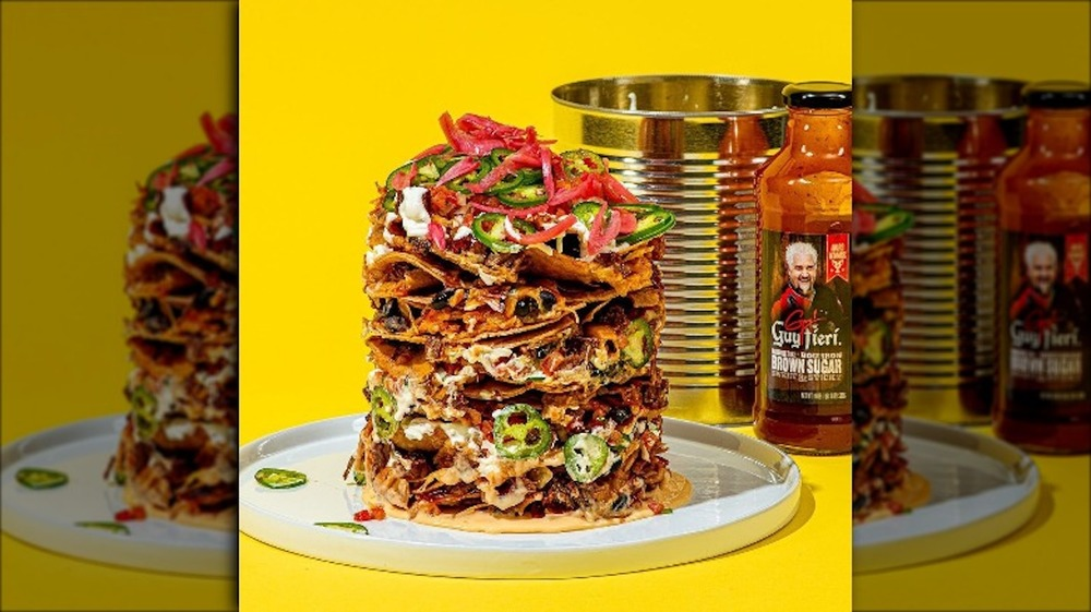 Can and Trash Can Nachos