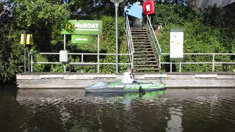 McBoat float-through