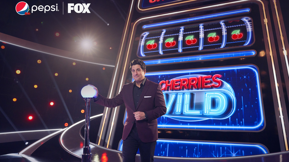 Cherries Wild set with host Jason Biggs
