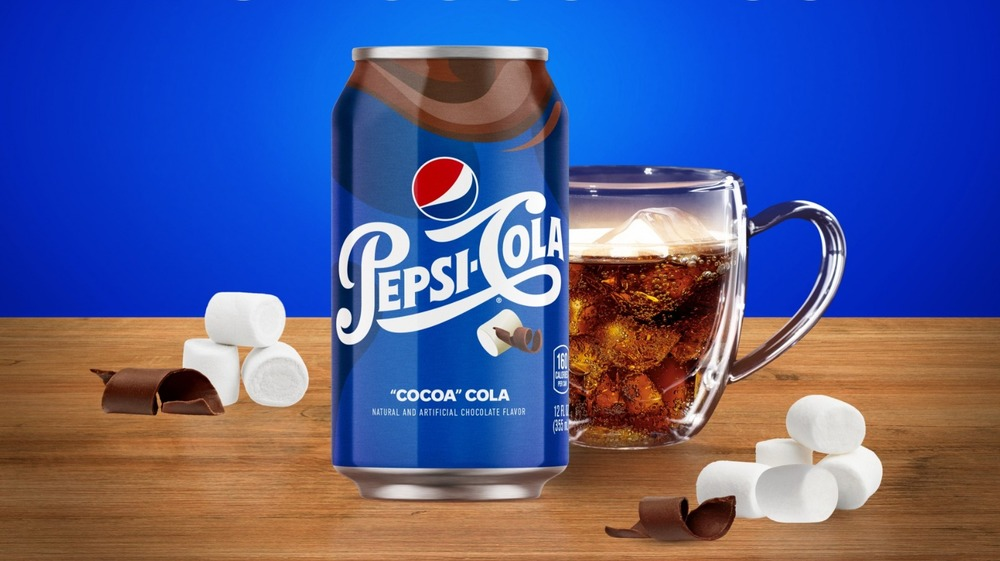 Pepsi Cocoa Cola can