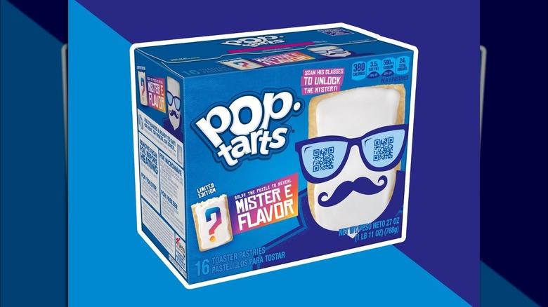 A box of the new Pop Tart flavor