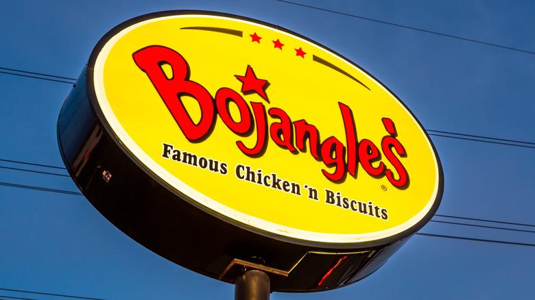 Bojangles' sign