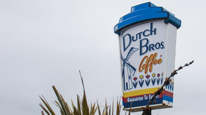 Dutch Bros sign