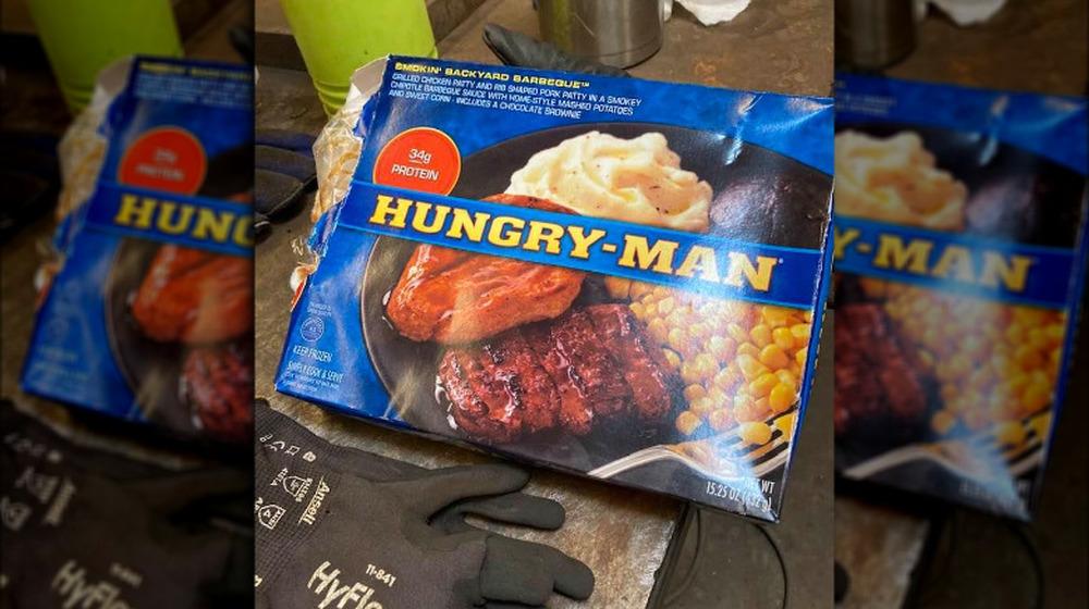 Hungry-Man Smokin Backyard Barbeque