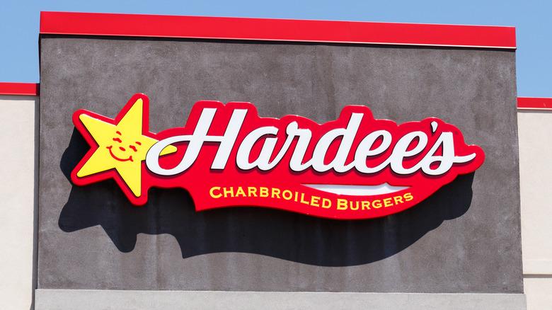 Hardee's sign