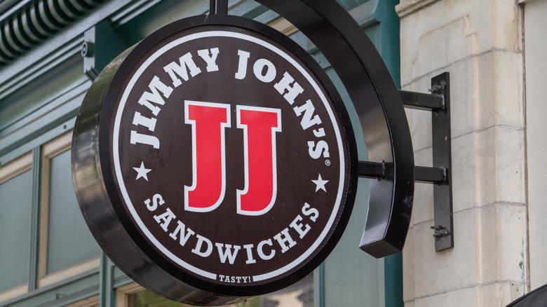 Jimmy John's sign