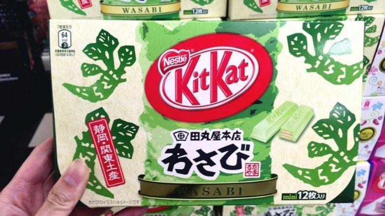 Wasabi flavor Kit Kat