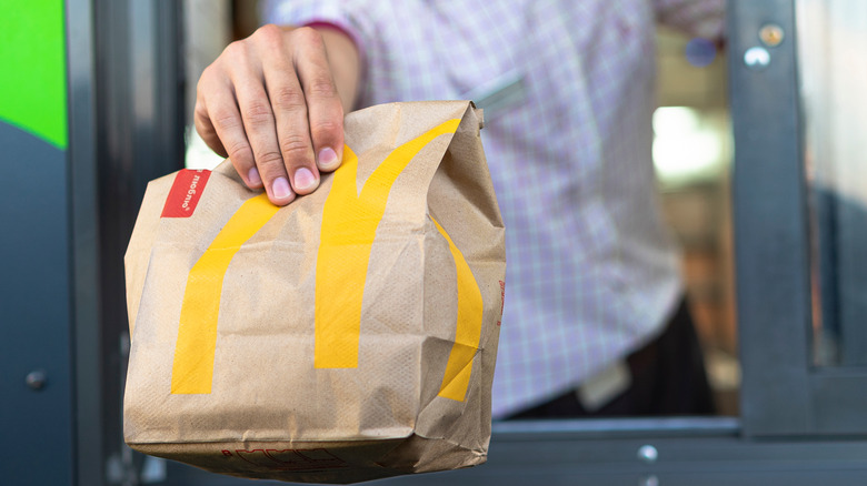 McDonalds drive thru service