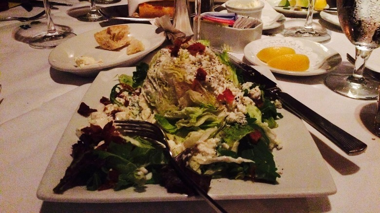 Lettuce Wedge from ruth's chris