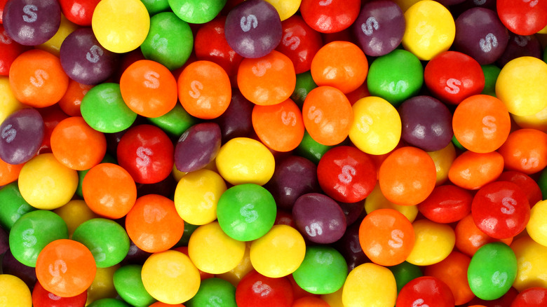 Skittles candy colors