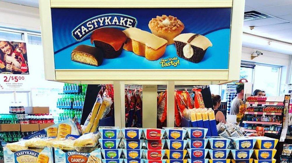 tastykake display