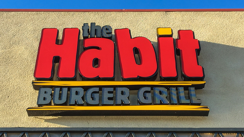 The Habit Burger Grill sign